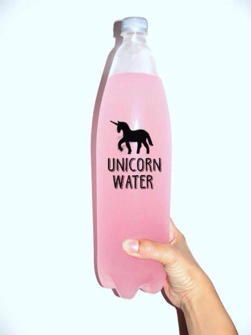 agua de unicornio