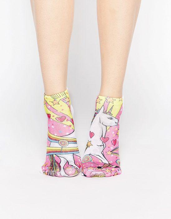 calcetines unicornio