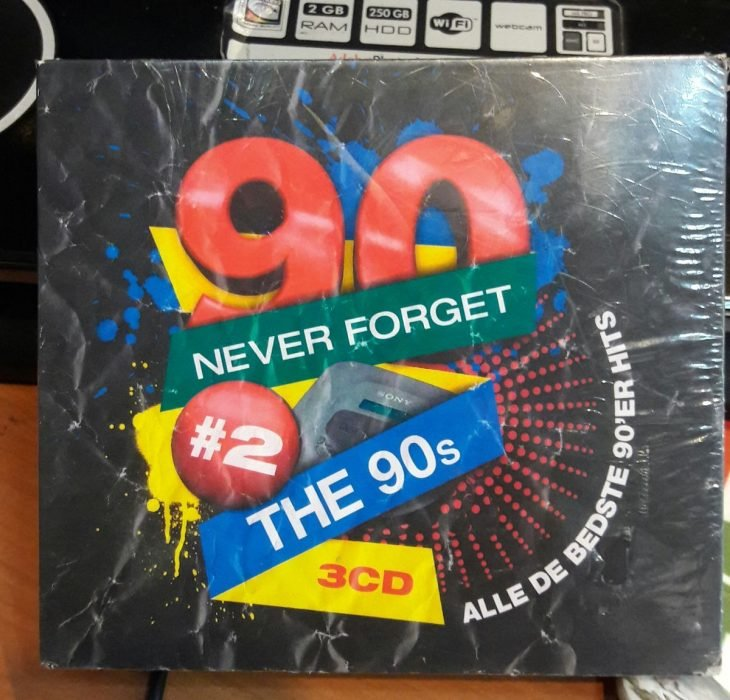 disco 90s con envoltura original