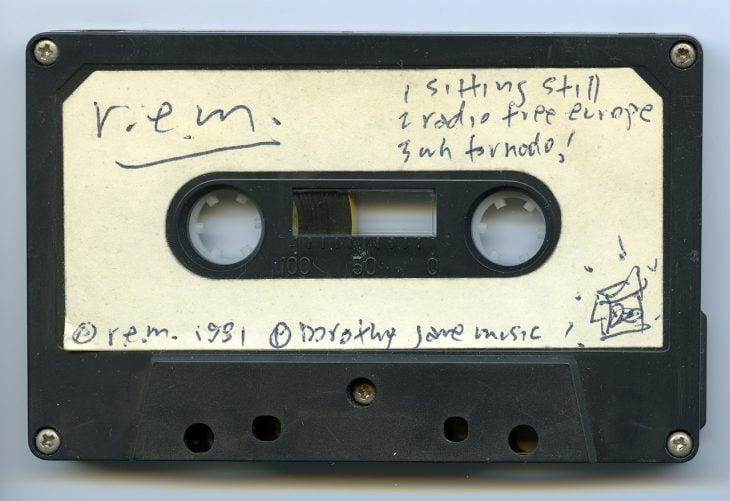 casete grabado