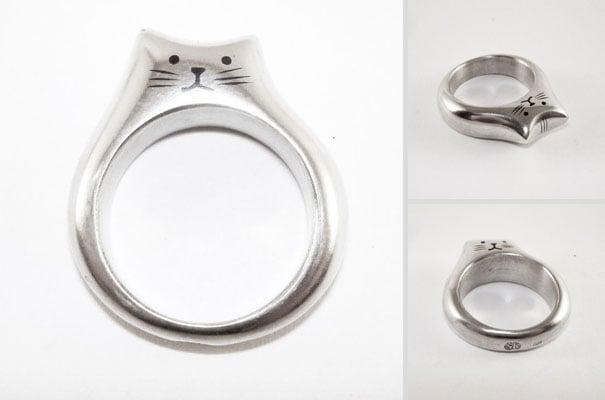 anillo de gato