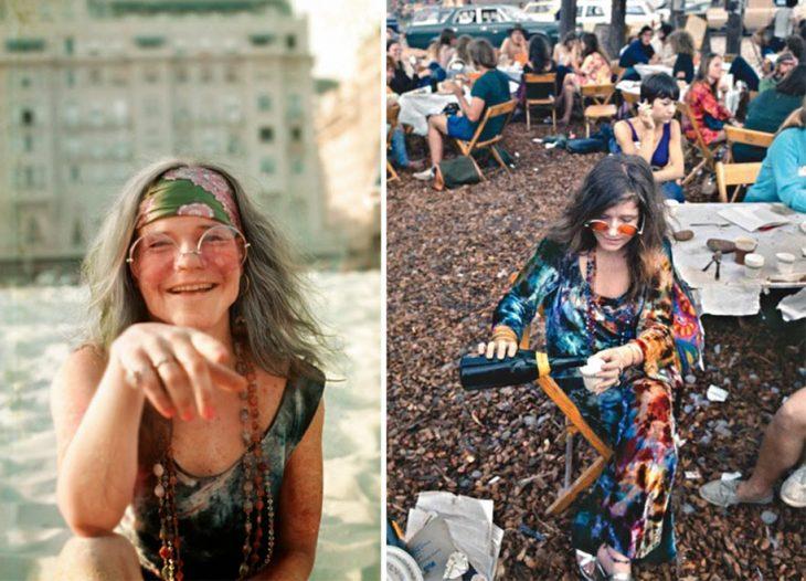 Janis Joplin en Woodstock