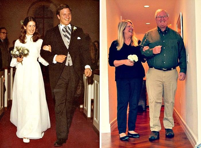 pareja antes y después