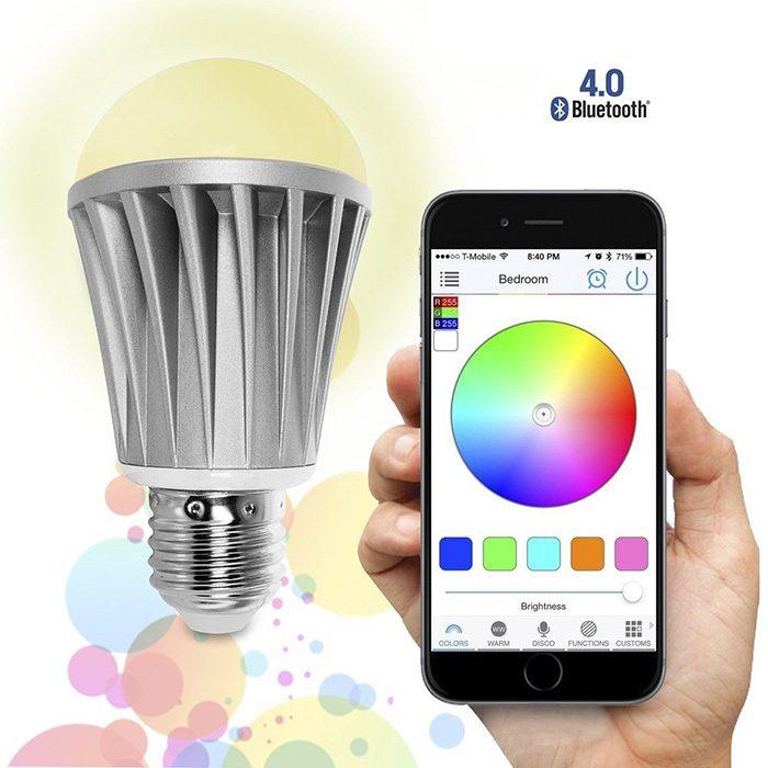 aplicacion para cambiar luz de color