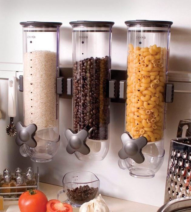 dispensadores de pasta cafe y arroz