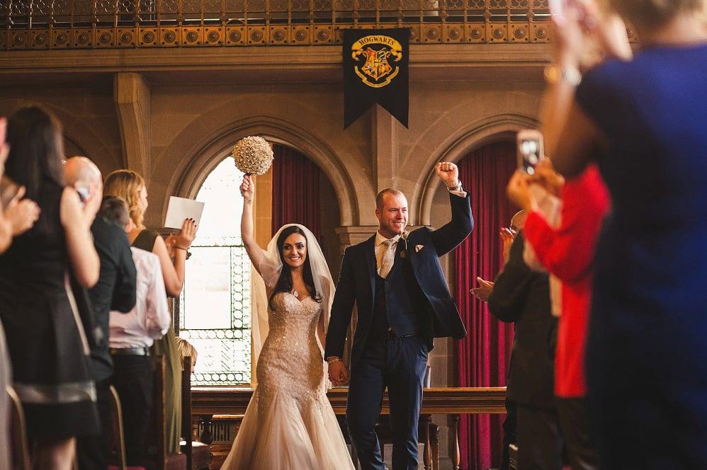 Matrimonio Harry In Streaming : Esta boda de harry potter llena magia pura