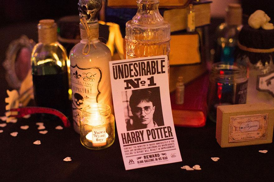 Esta Boda De Harry Potter Esta Llena De Magia Pura