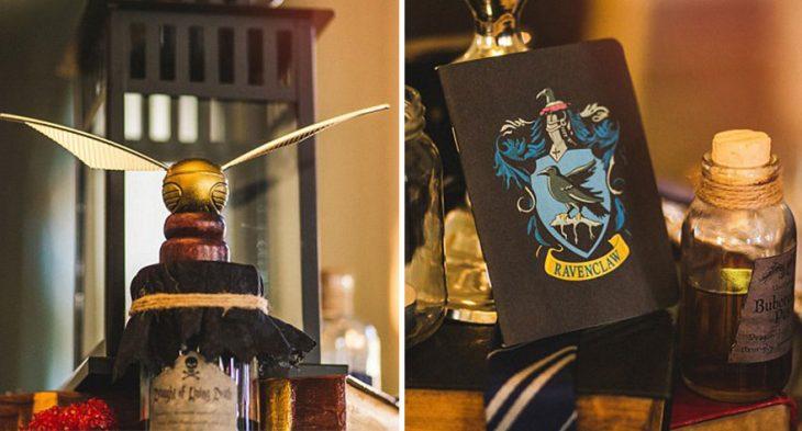 Detalles de la película de Harry Potter para una boda