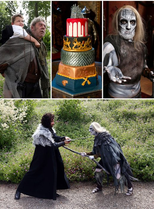Elementos para Boda al estilo Game Of Thrones