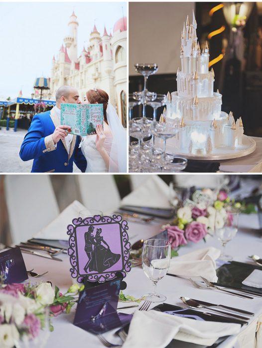 Elementos para boda al estilo la Cenicienta