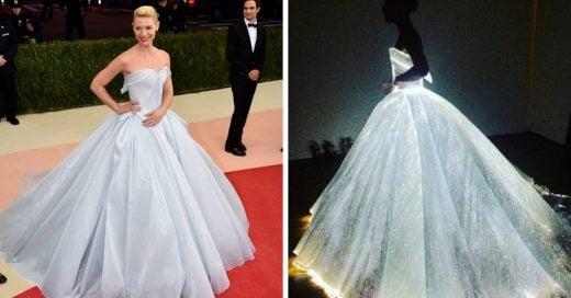 Claire Danes asiste a la Met Gala iteralmente con vestido deslumbrante