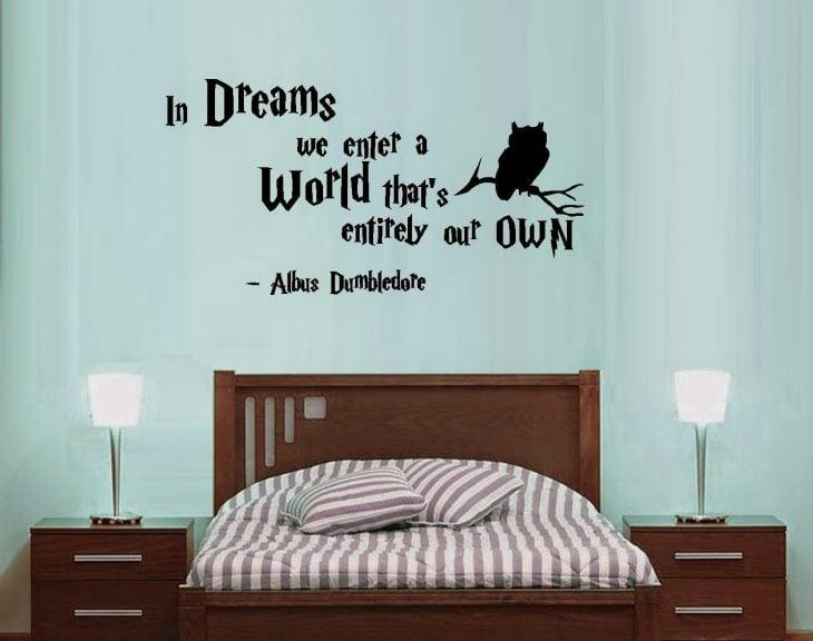 Letras para decorar un dormitorio inspiradas en Harry Potter