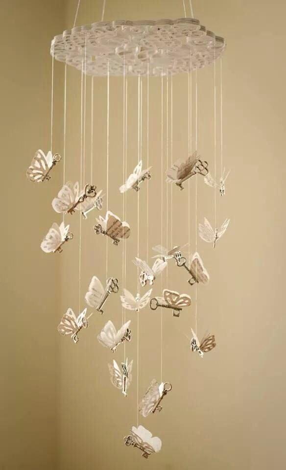 este mvil es perfecto para decorar tu sala de lectura