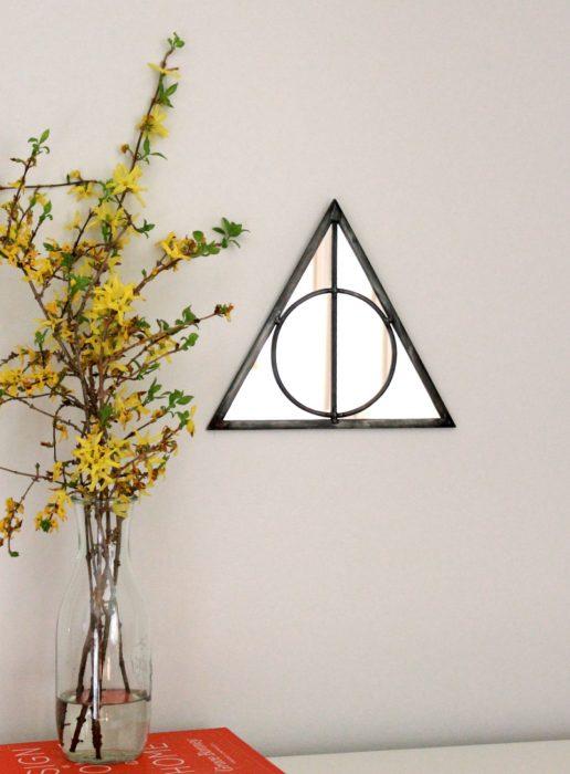 Espejo de las reliquias de la muerte de Harry Potter