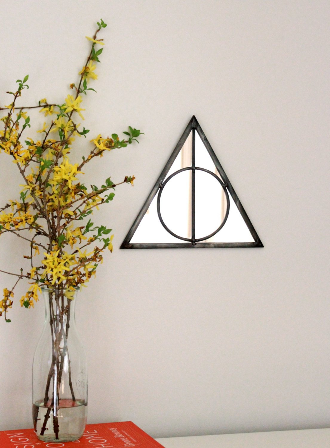 20 ideas de decoraci n del hogar inspiradas en harry potter for Espejo harry potter