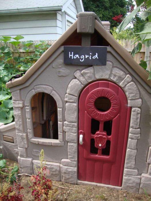 Casa para perro inspirada en Harry Potter