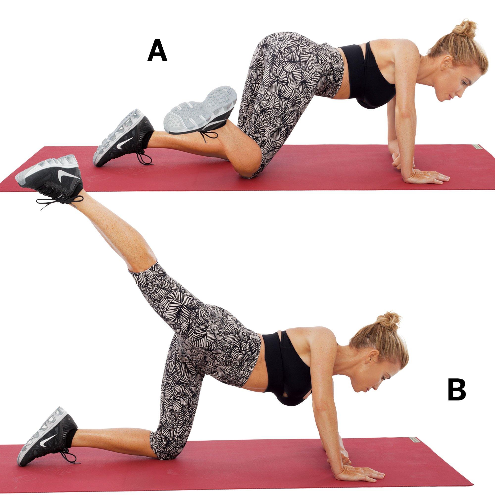ejercicios fitness para abdomen