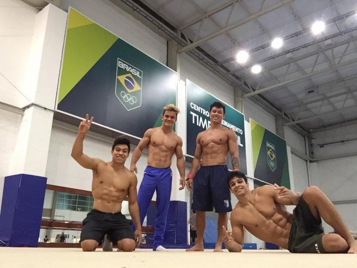 equipo brasileño masculino de gimnasia