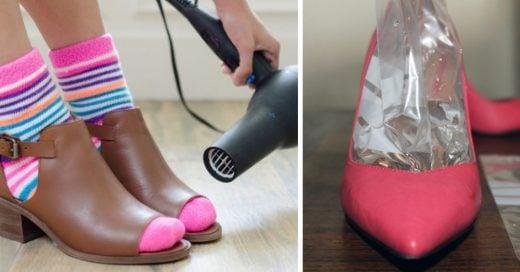 Increíbles tips para que tus zapatos favoritos no hagan que te duelan los pies