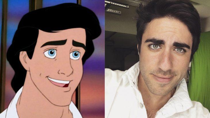 Leo Camacho interpretado por el príncipe Eric