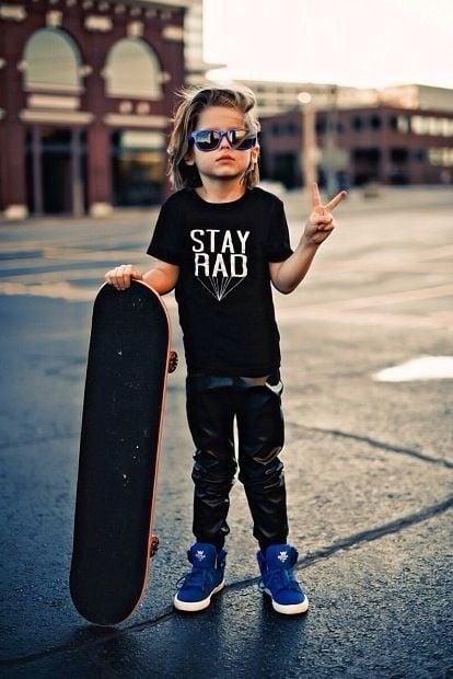 bebé skater