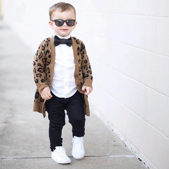bebé vestido elegante