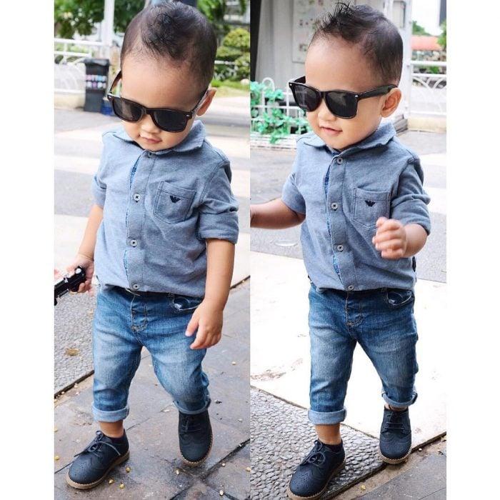 bebé vestido casual