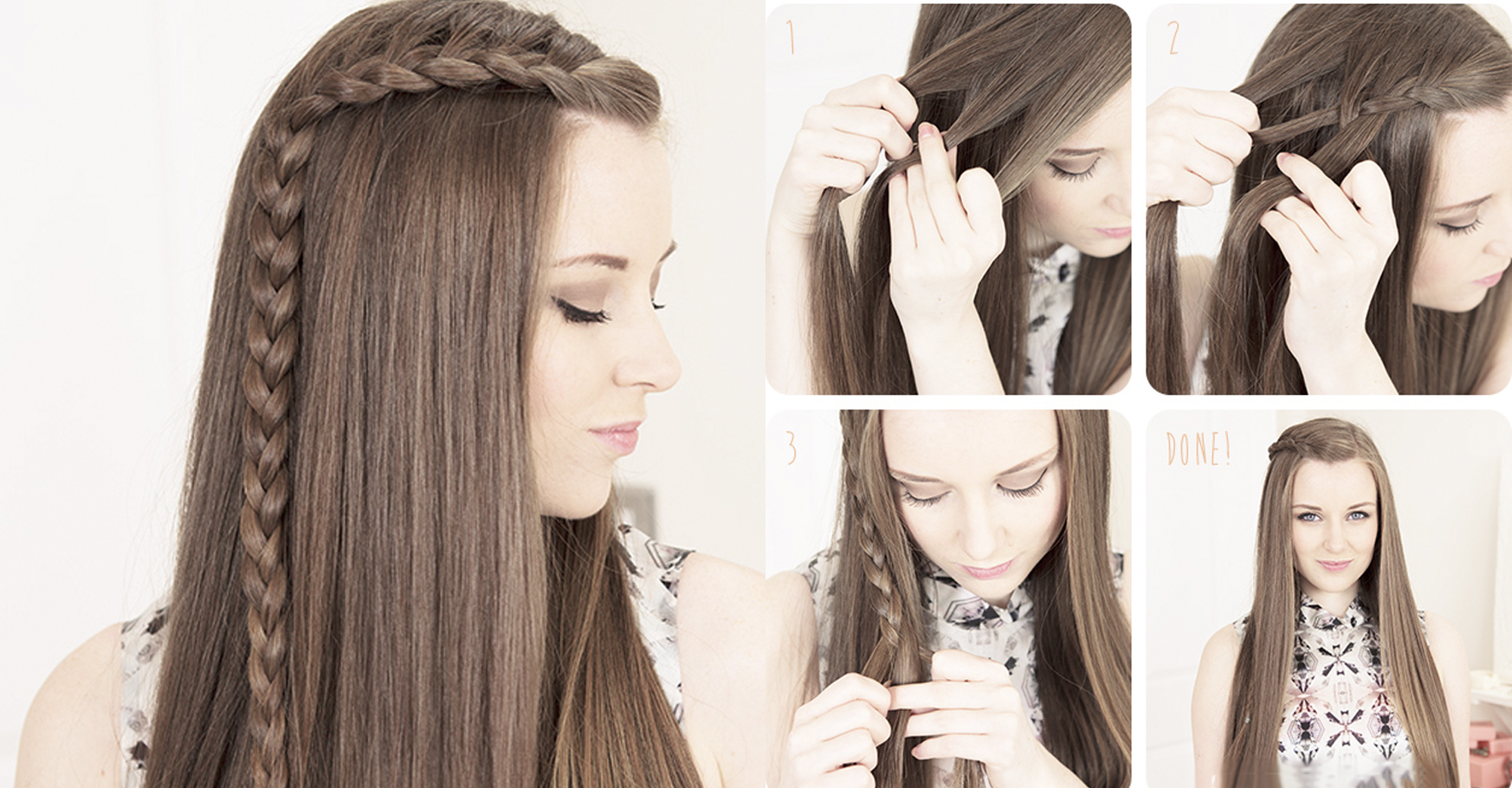 15 peinados que puedes hacer en 10 minutos cuando es tarde - Como hacer trenzas sencillas ...