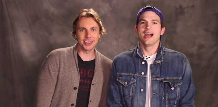 Video de Ashton Kutcher y Dax Shepard para sus novias