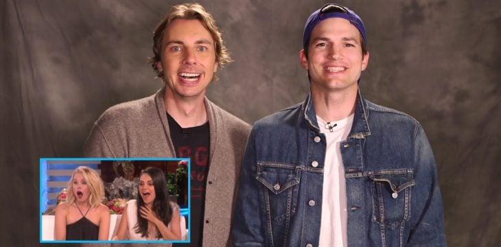 Ashton Kutcher y Dax Shepard
