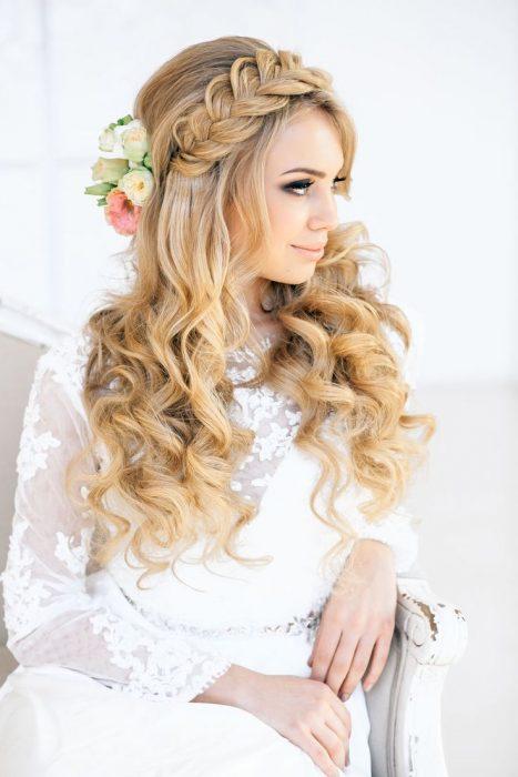 15 Wedding Hairstyles For Long Hair That Steal The Show: 20 Estilos Diferentes De Trenzas Que Te Harán Amarlas