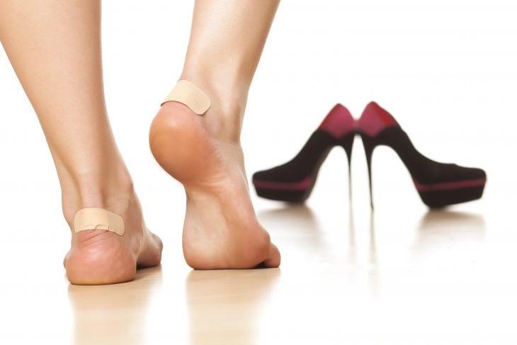 Curitas en los pies