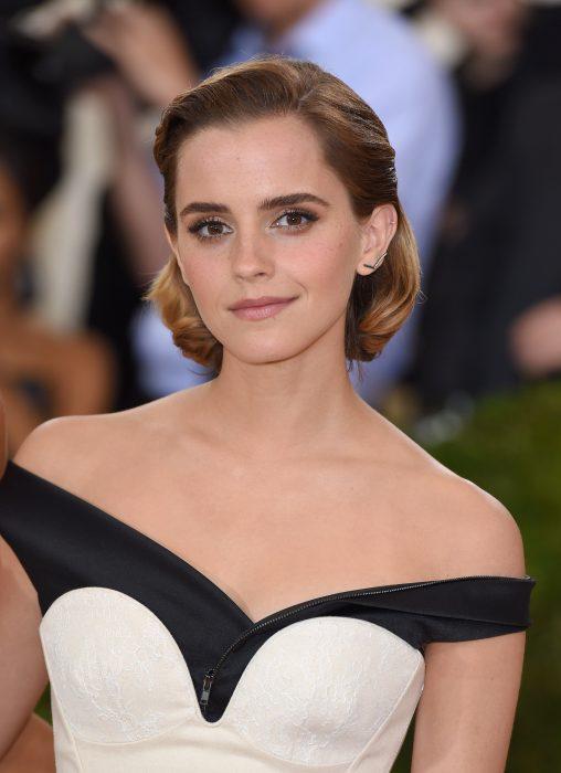 Emma Watson durante la Meet Gala 2016