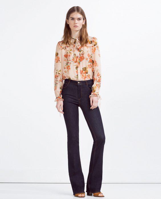 modelo campaña de Zara
