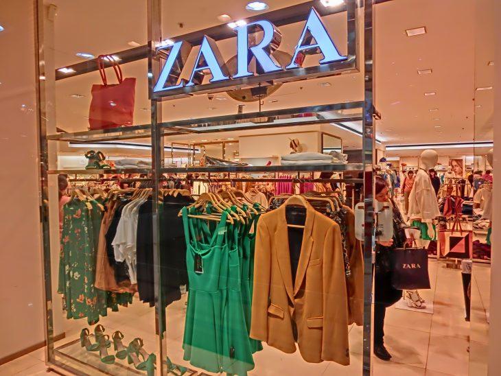 aparador tienda Zara