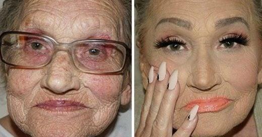 Tea Flego es una artista estética que ha mostrado al mundo entero cómo usar el maquillaje de una forma inteligente para deshacerse de al menos 20 años de edad.