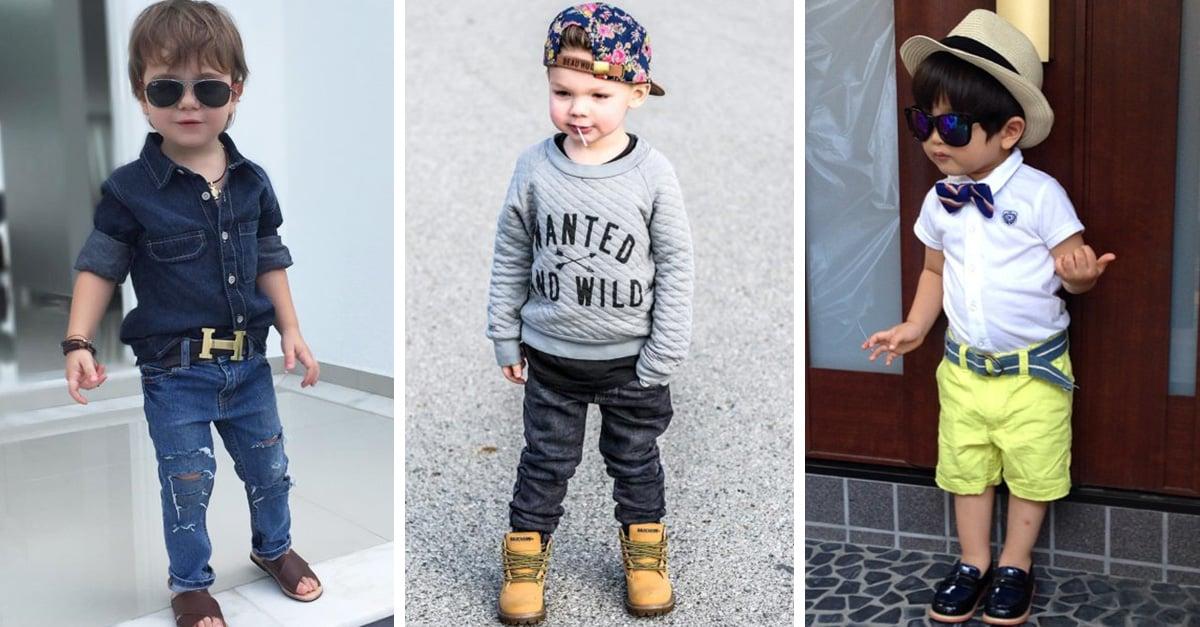 Adorables niños mini-fashionistas que tienen un gran estilo y visten mucho mejor que tú