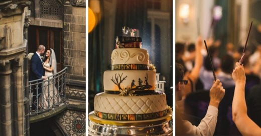 Boda con tema de Harry Potter