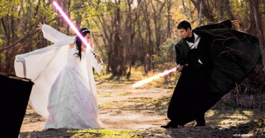 Boda temática de Star Wars