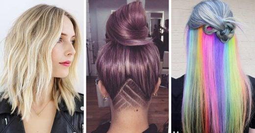 14 Cortes de pelo para cambiar de look de una vez por todas
