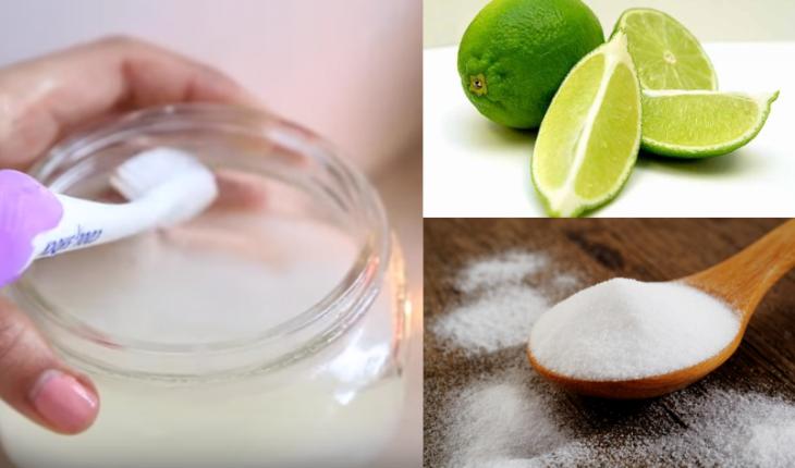 pasta de dientes bicarbonato de sodio y limon