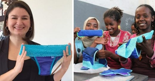 Esta colombiana 'hackeó' las toallas sanitarias y cambió la vida de millones de niñas en el mundo