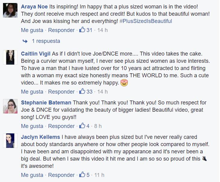 captura de pantalla comentarios en facebook