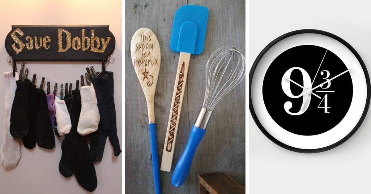 Cosas de Harry Potter para decorar tu hogar