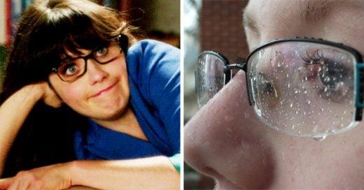 cosas que solo las chicas que usan lentes podrán entender