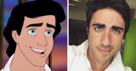 Este cosplayer de Disney es igual al Príncipe Eric