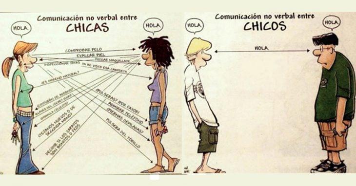 DIFERENCIAS HOMBRES MUJERES - Comunicación no verbal