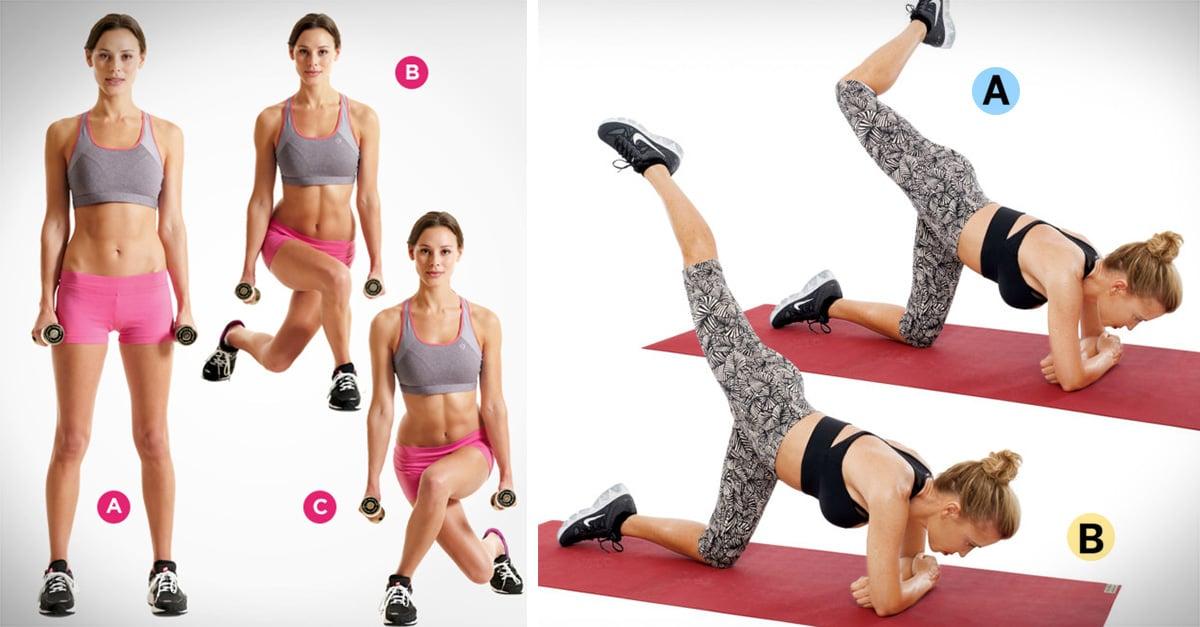 ejercicios para reducir cintura y abdomen para mujeres rápidamente