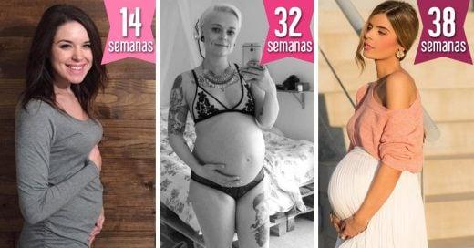 Fotos que celebran la belleza única de estar embarazada