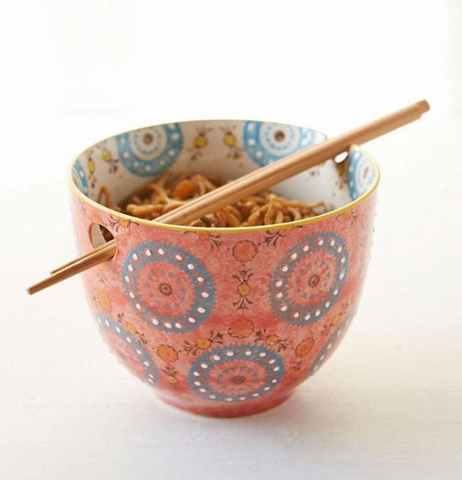tazaa para comer fideos y arroz
